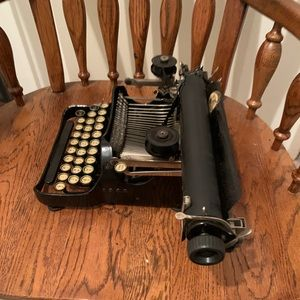 Antique Corona Typewriter, Folding Typewriter 1917